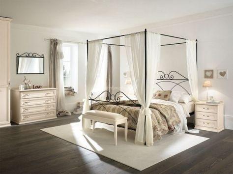 Letto a Baldacchino, dormire come nelle favole | FacileArredo.it