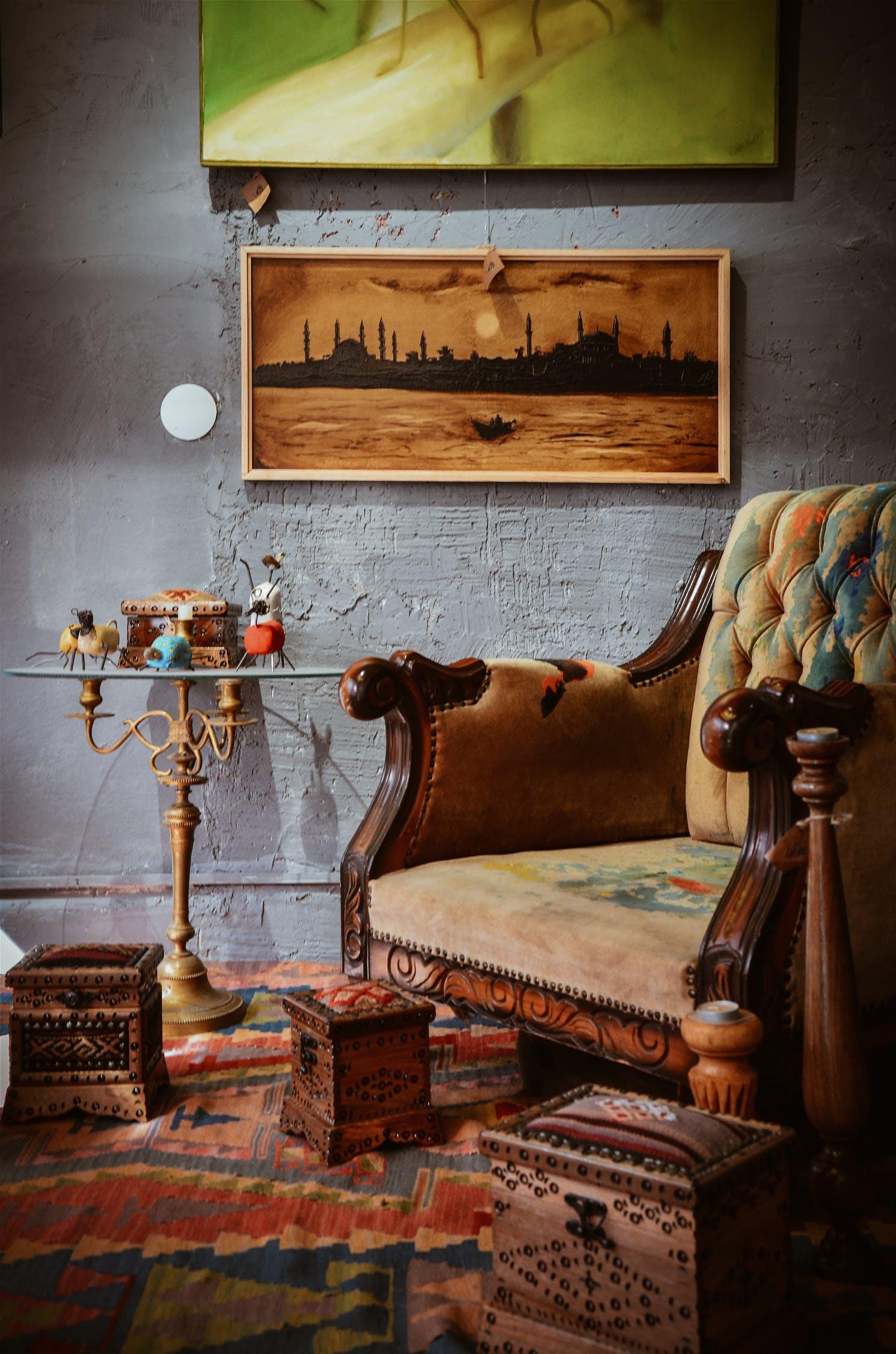 Arredare il soggiorno in stile bohémien: colori e fantasia ...