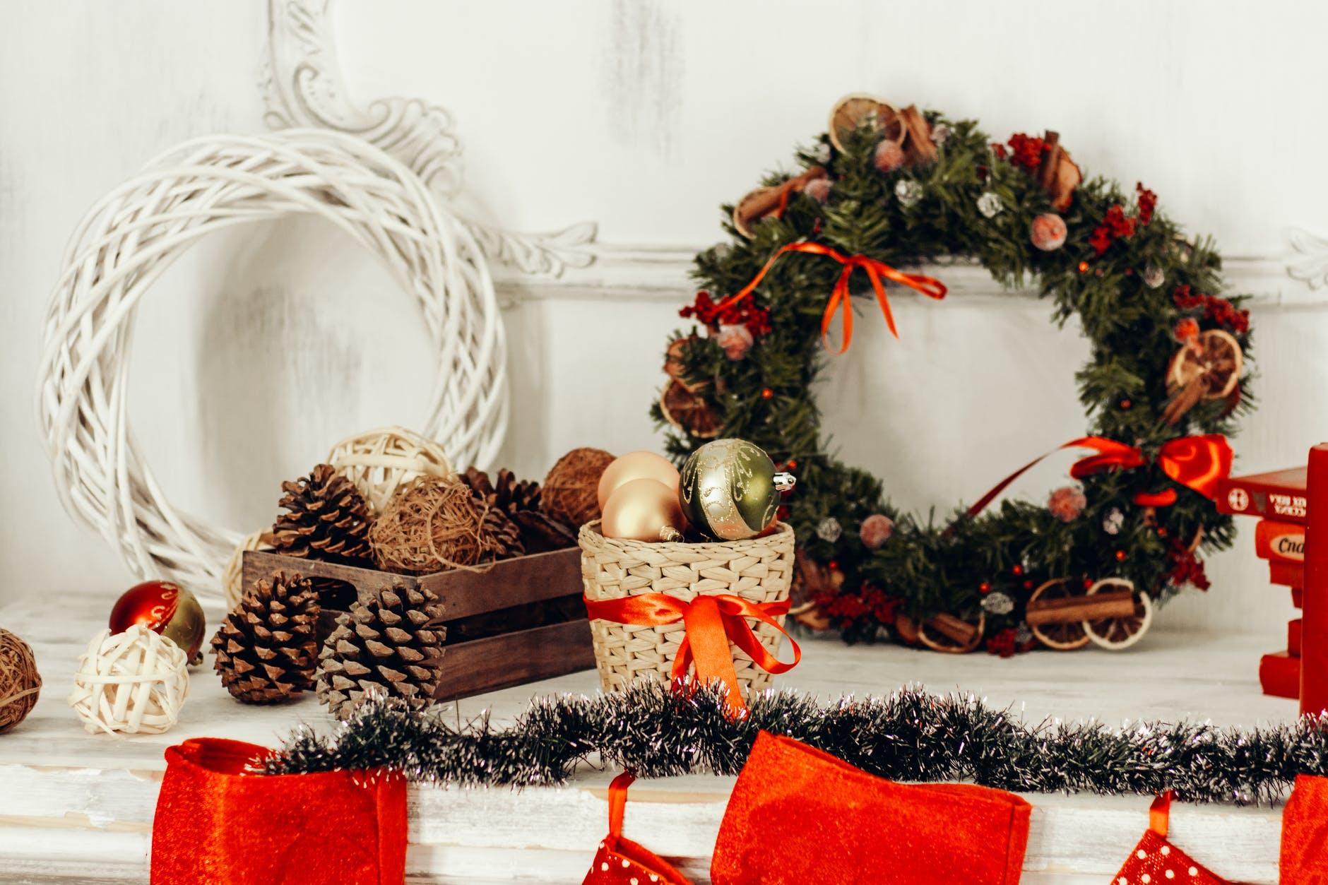 Decorazioni di Natale per la cameretta dei bambini
